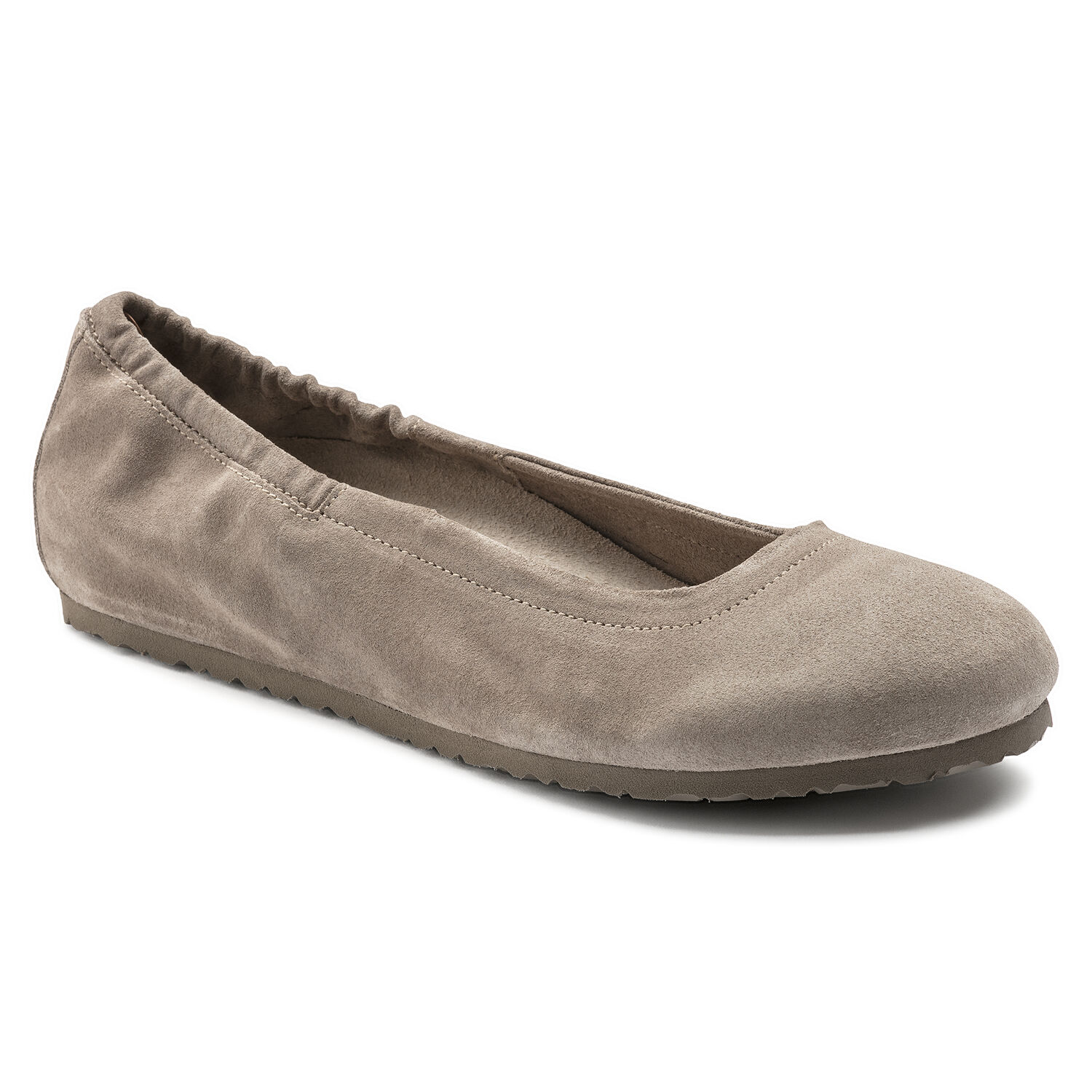 1873f34afb9 Celina Suede Leather Taupe