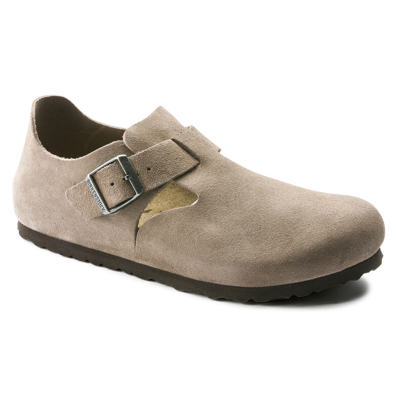 London Suede Leather Taupe