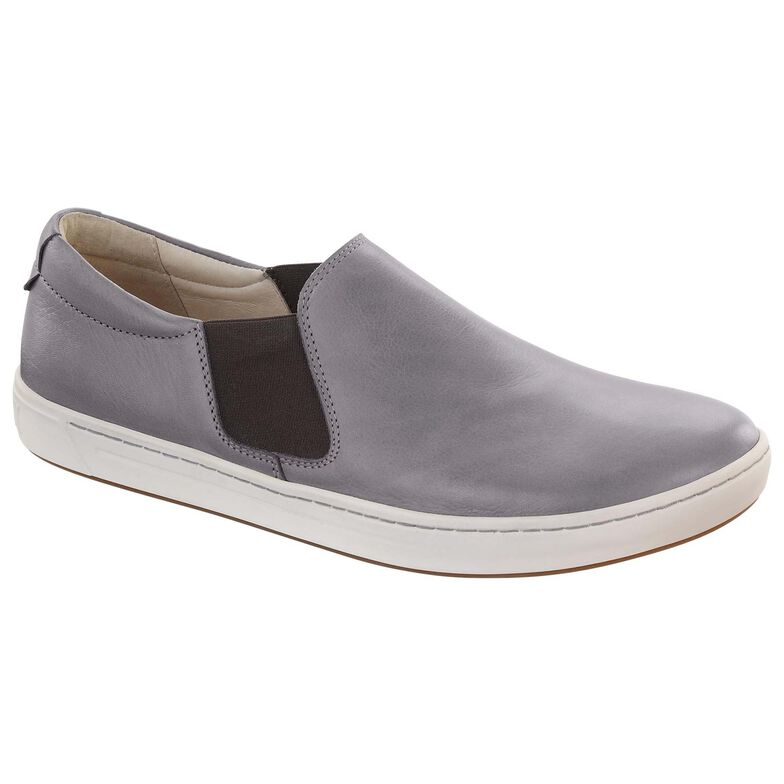 Barrie Natural Leather Gray