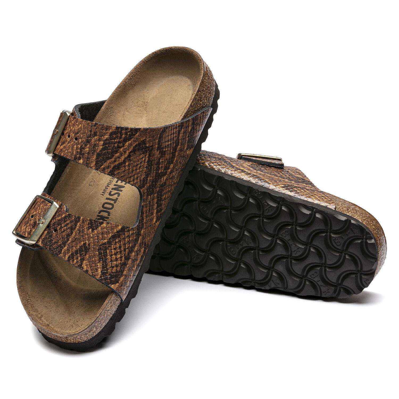Arizona Embossed Natural Leather