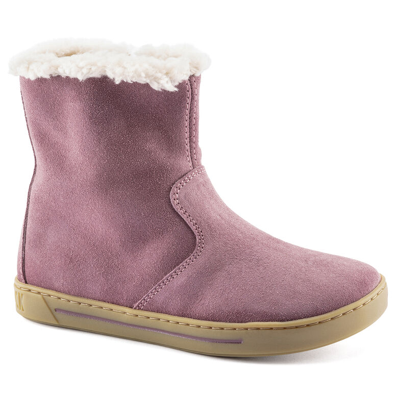 Lille Kids Suede Leather Lavender Blush
