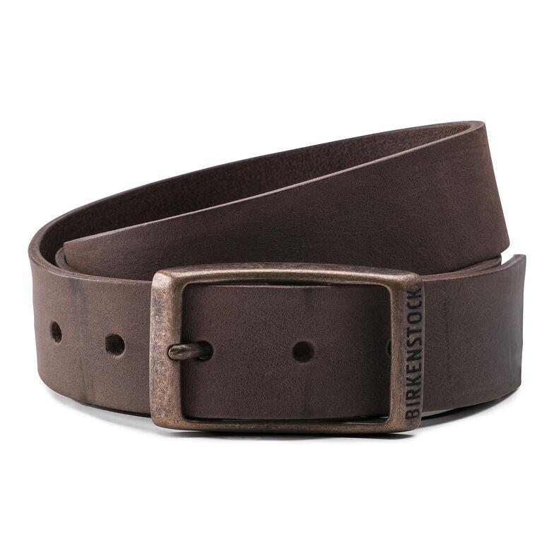 Kansas Belt Oiled Leather Habana