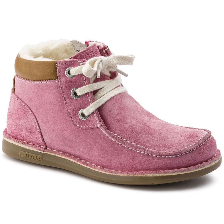 Pasadena Suede Leather Pink