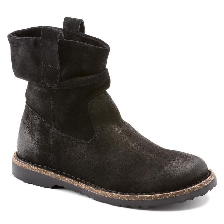 Luton Suede Leather ブラックハイドロフォビック