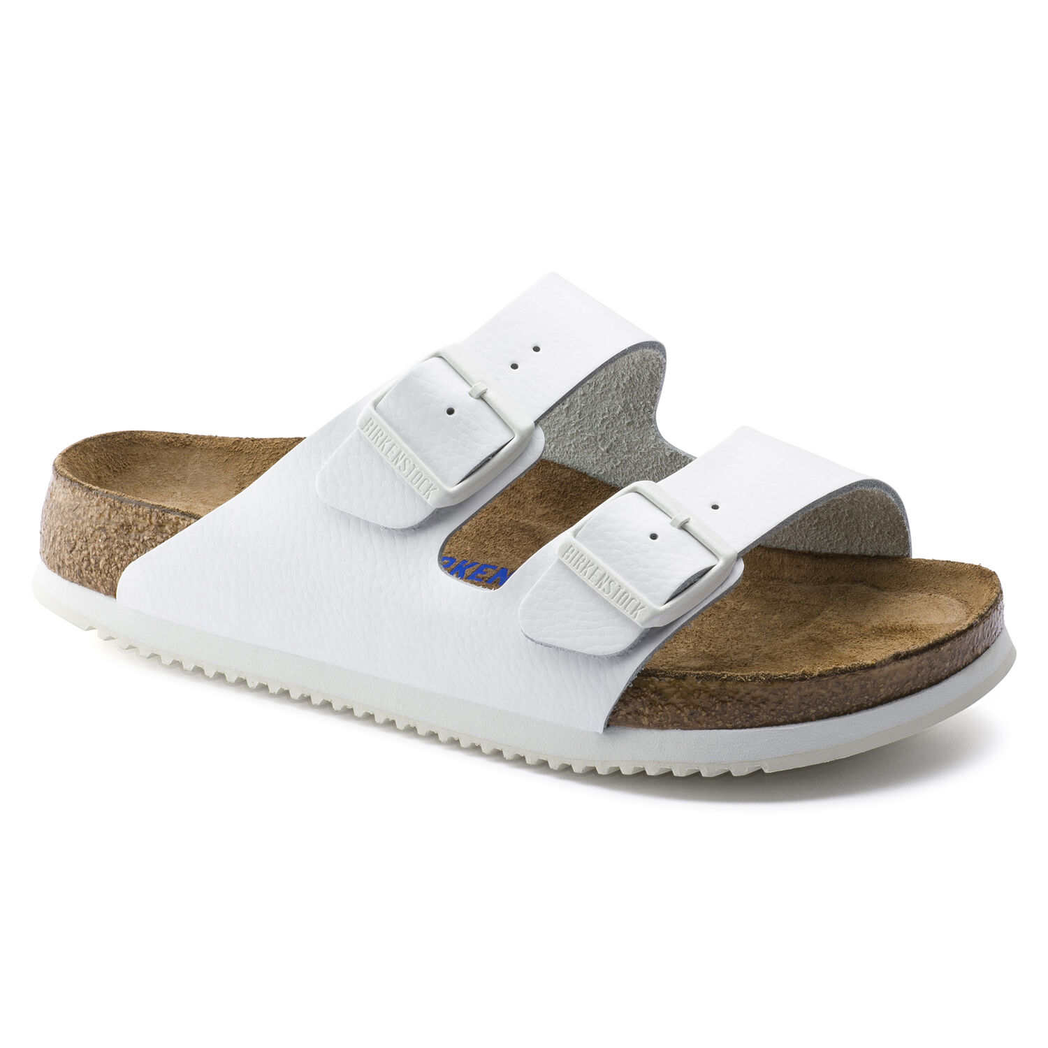 95d07b543 Arizona Natural Leather Soft Footbed White