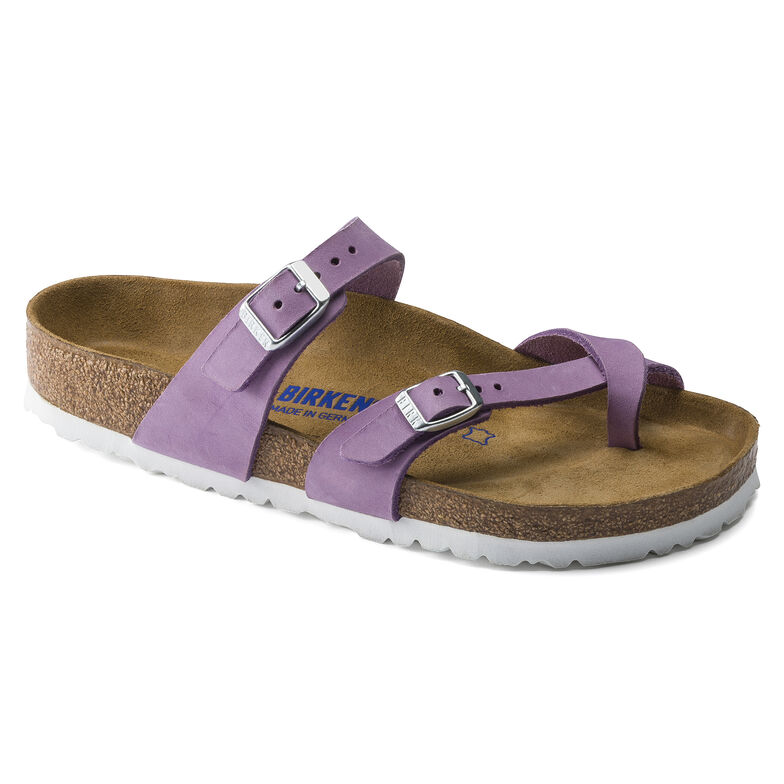 Mayari Nubuck Leather Lavender