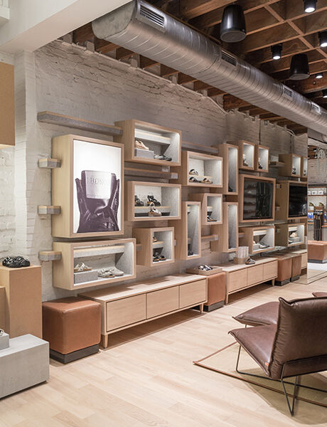 Soho Store interior