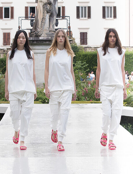Spring Summer 19 Launch Event runway model in Arizona, Madrid and Gizeh