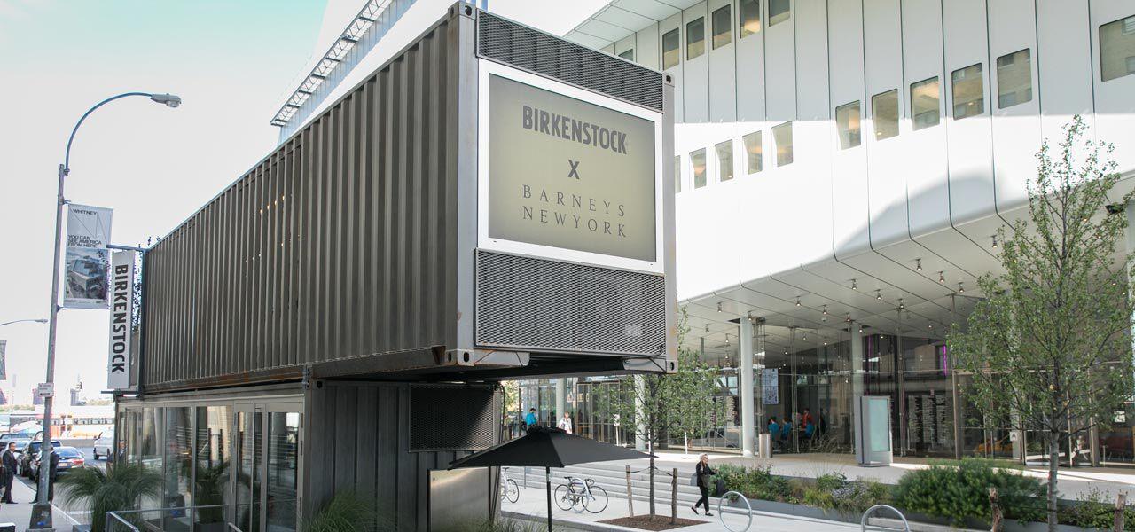 Barney's Box facade