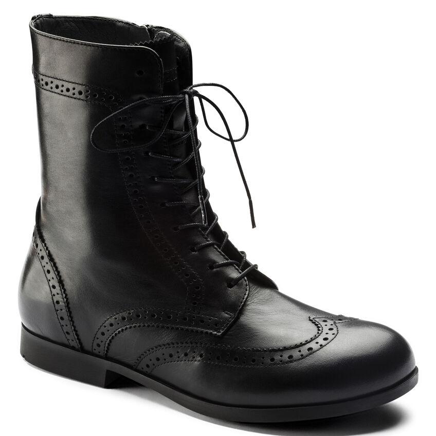Laramie Natural Leather Black