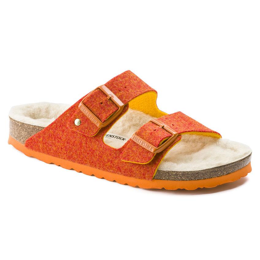 Arizona Wool Felt Doubleface Orange