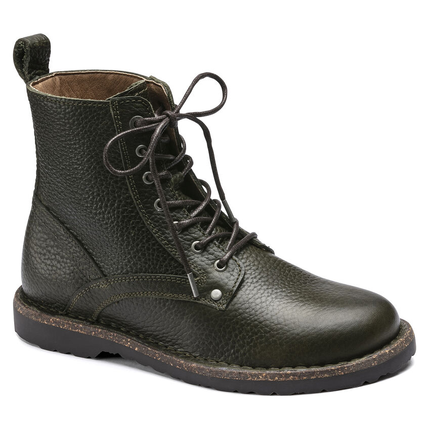Bryson Natural Leather Hunter Green