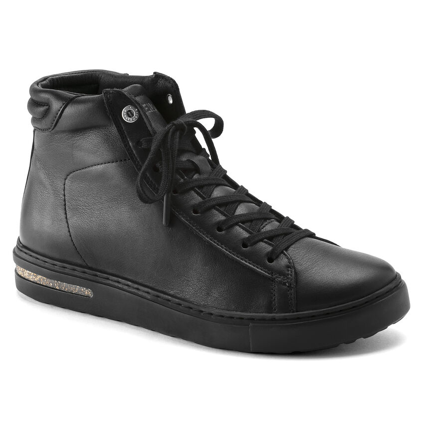 Bend Mid Natural Leather Black