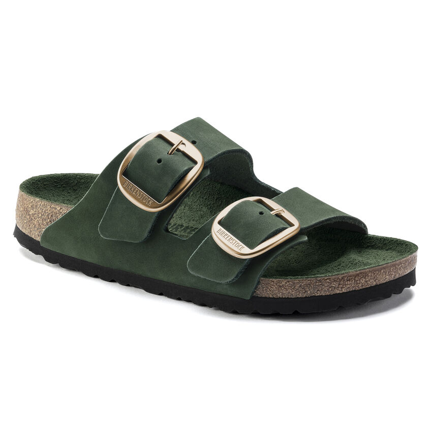 Arizona Big Buckle Nubuck Leather Mountain View Green