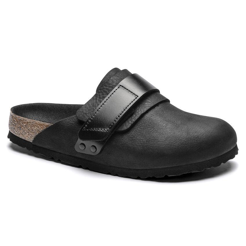 Nagoya Nubuck Leather Black