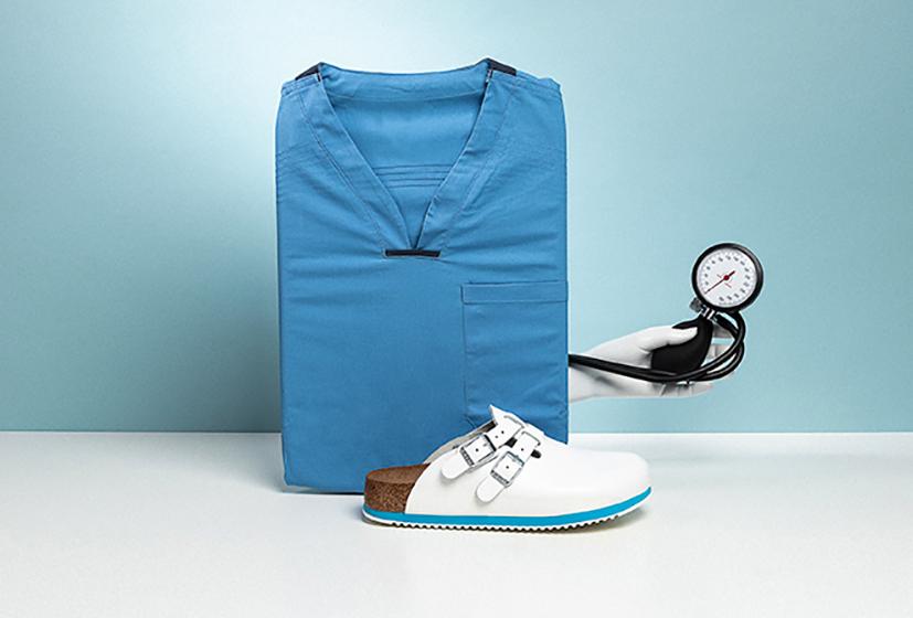 Medical professional footwear