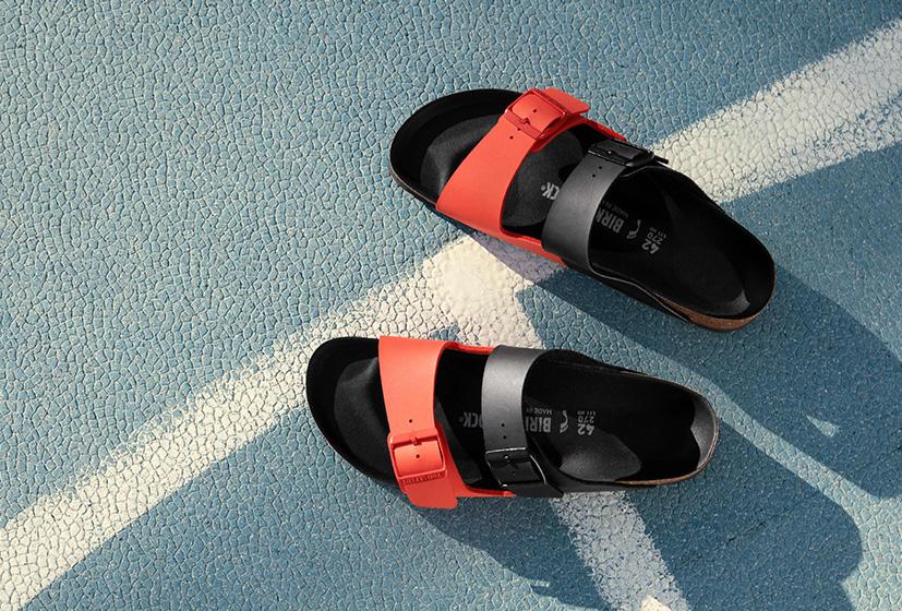 SHOP ARIZONA SPLIT BLACK/POPPY RED