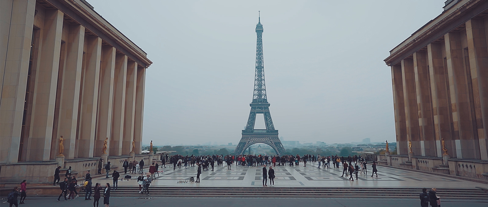 A view of the Eifel Tower
