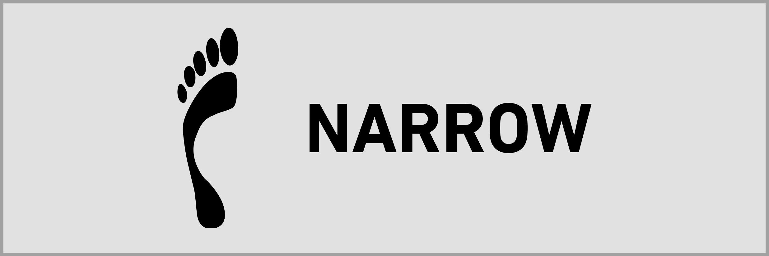 narrow width icon