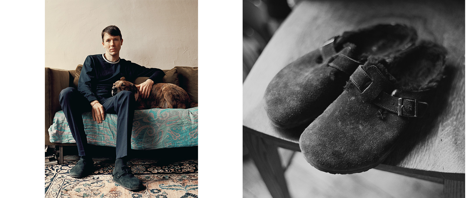 Ryan McGinley in Birkenstocks