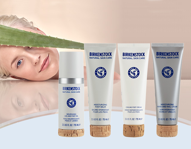 Natural Comfort skin care from BIRKENSTOCK