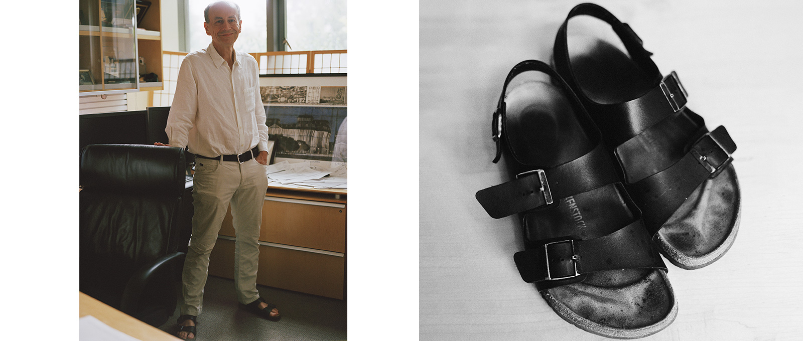 Thomas Sudhof in Birkenstocks
