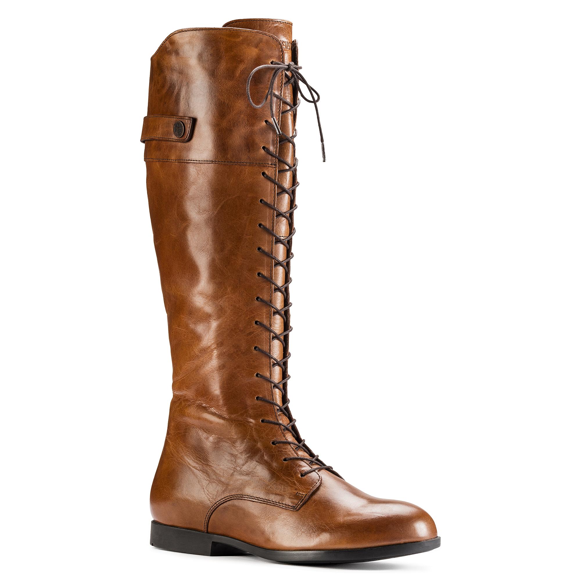 Birkenstock Women's Longford Camel Leather Boots EU 36 US 5 5.5 Regular Fit | eBay