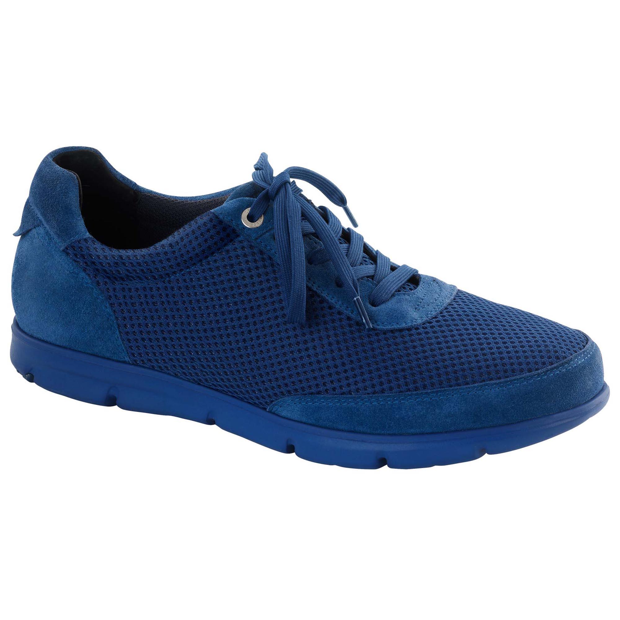 907841533013 Illinois Suede Leather Textile Royal Blue