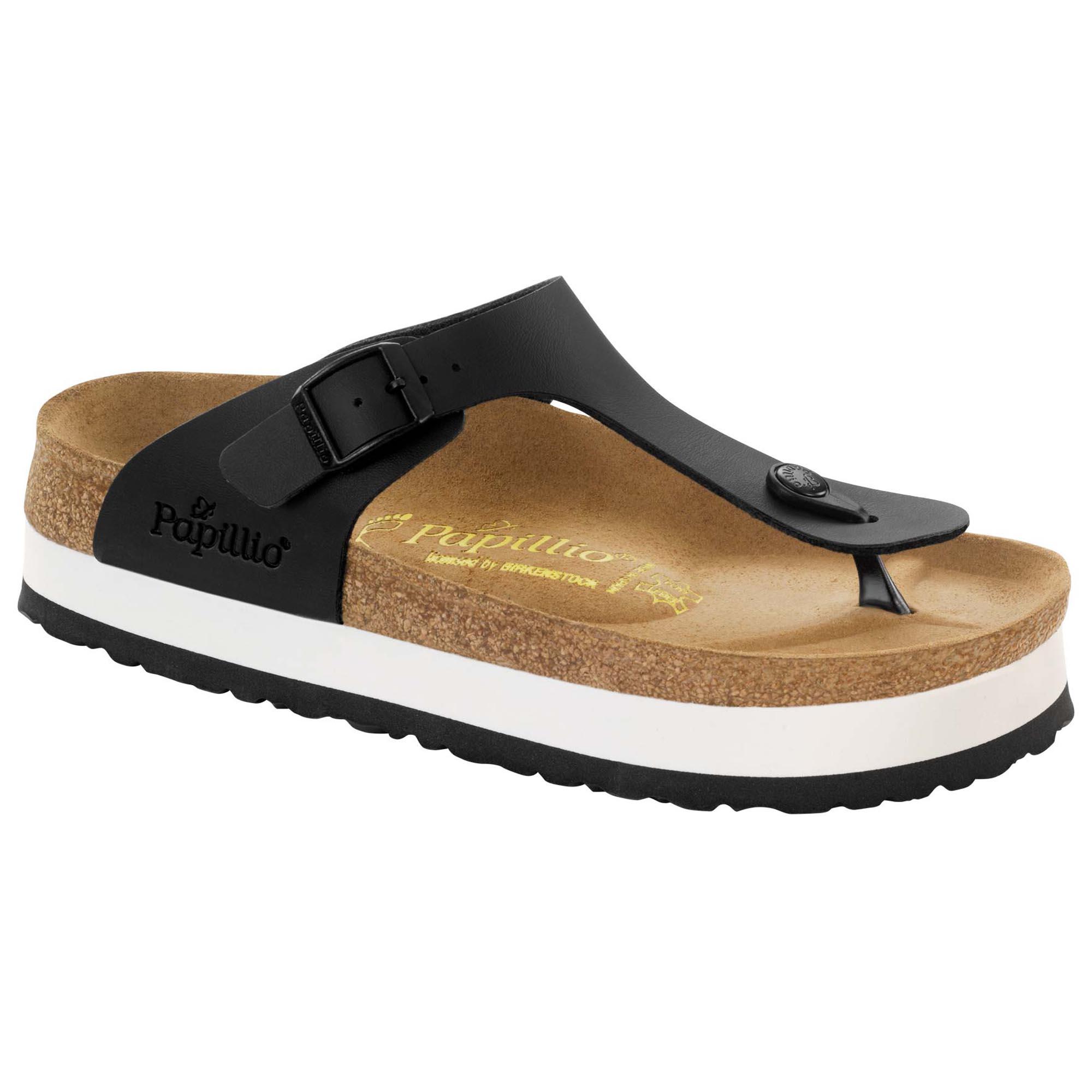 birkenstock gizeh platform sandals off