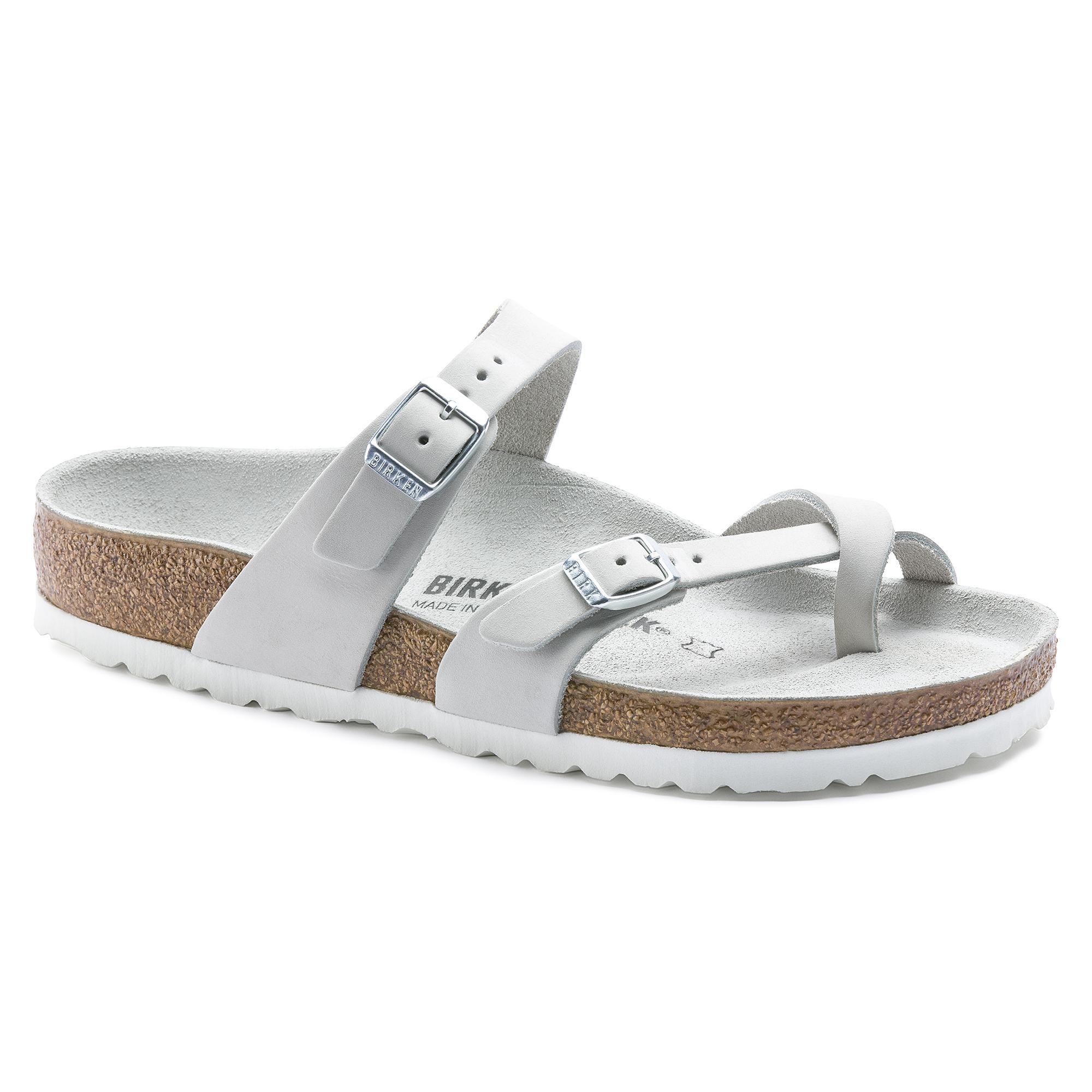 405c7a4a0 Mayari Nubuck Leather White | shop online at BIRKENSTOCK