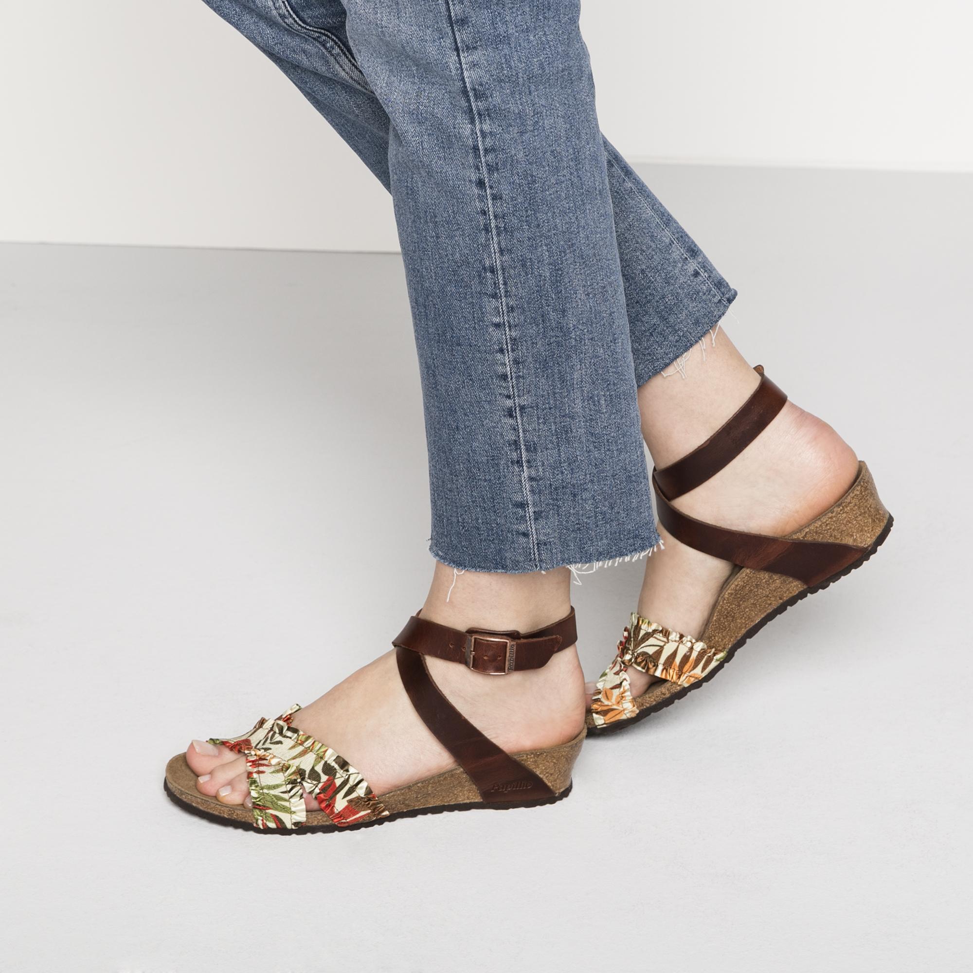 2bef54ec14 Lola Birko-Flor Flower Frill Brown | shop online at BIRKENSTOCK