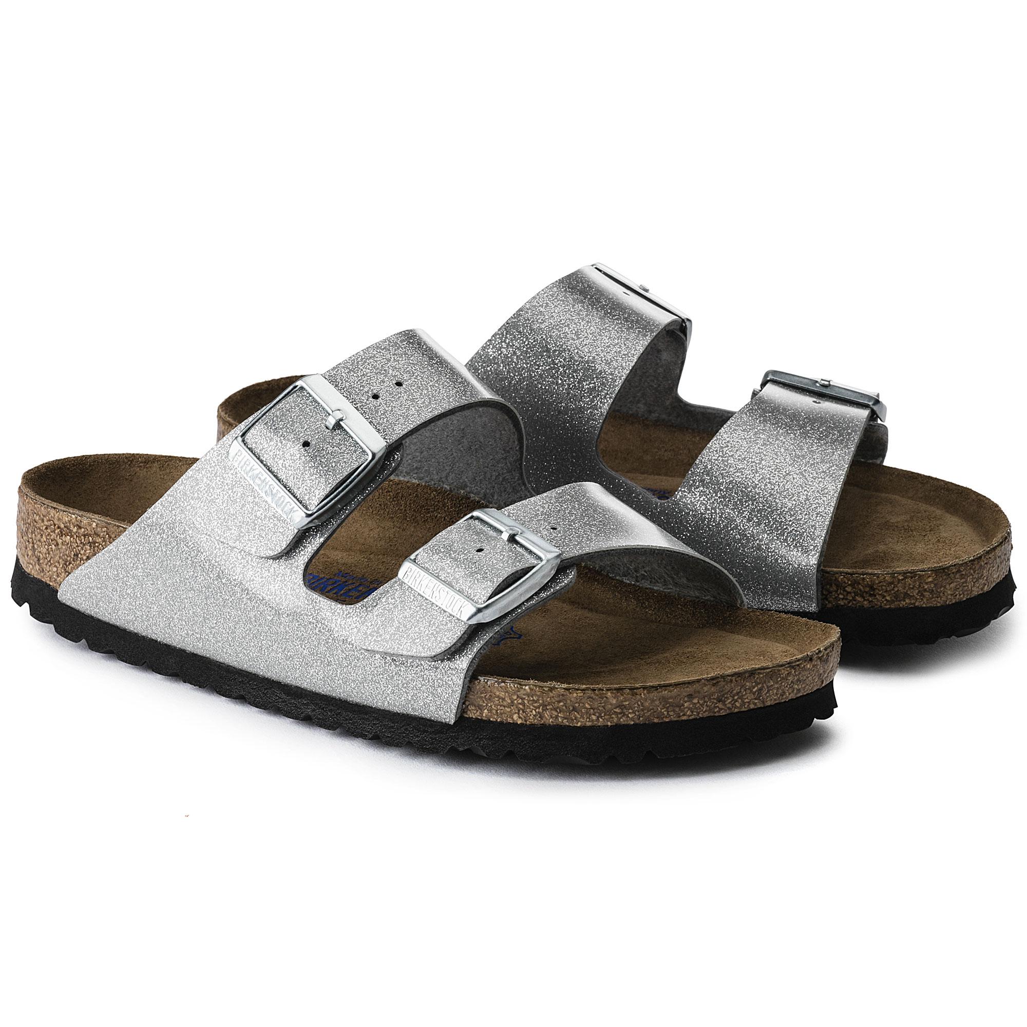 Birkenstock Arizona Birko Flor Sandals 2 Strap Slides Cork Footbed Mens Womens | eBay