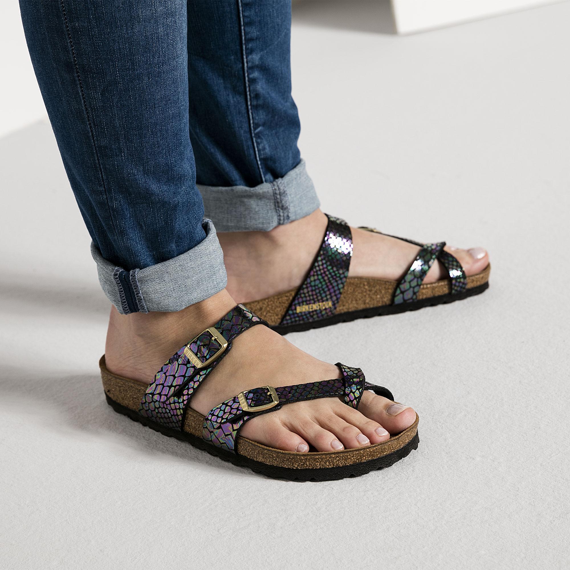 Birkenstock Mayari Birko Flor Sandals | Free Delivery Options