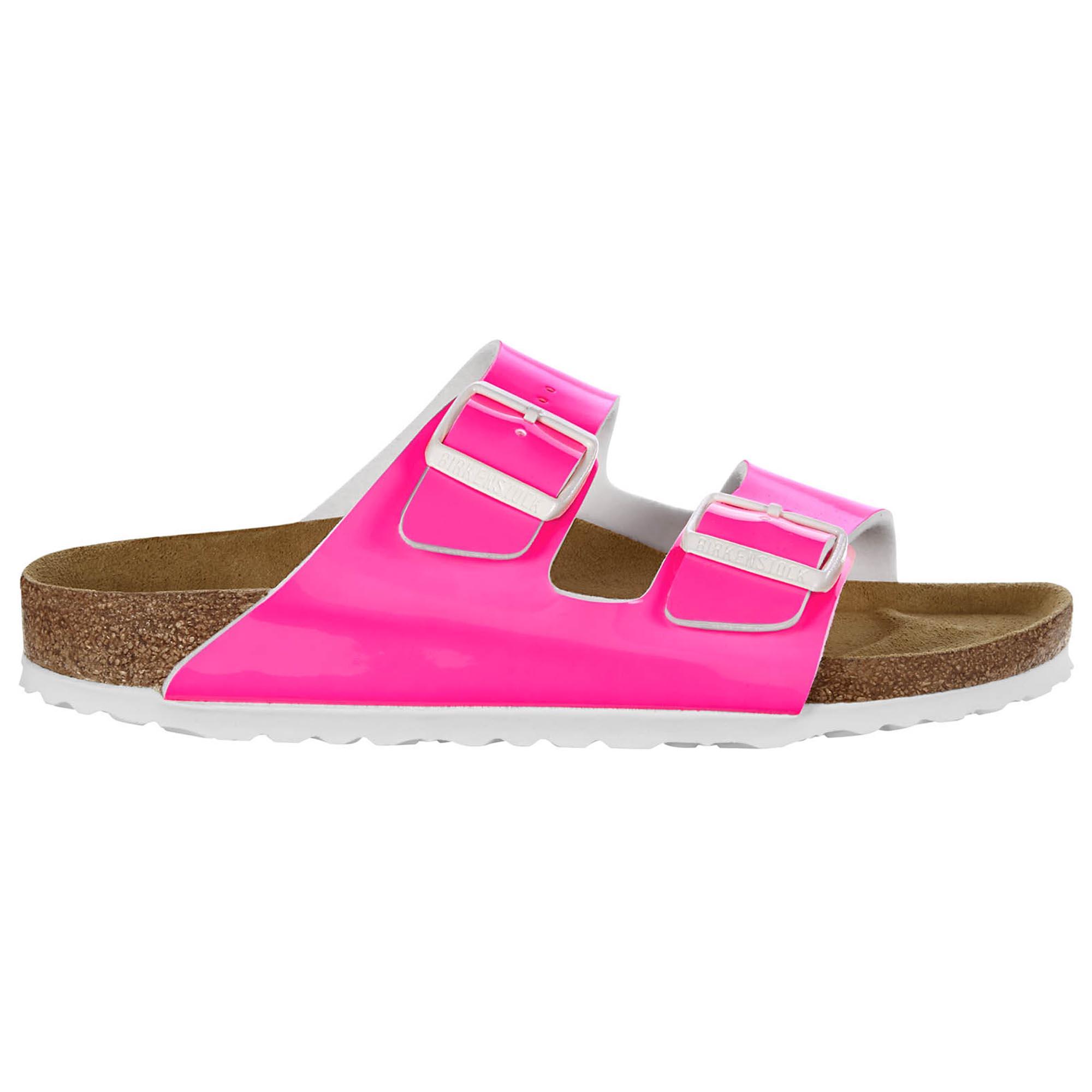 Gizeh Birko Flor Patent Neon Pink Patent
