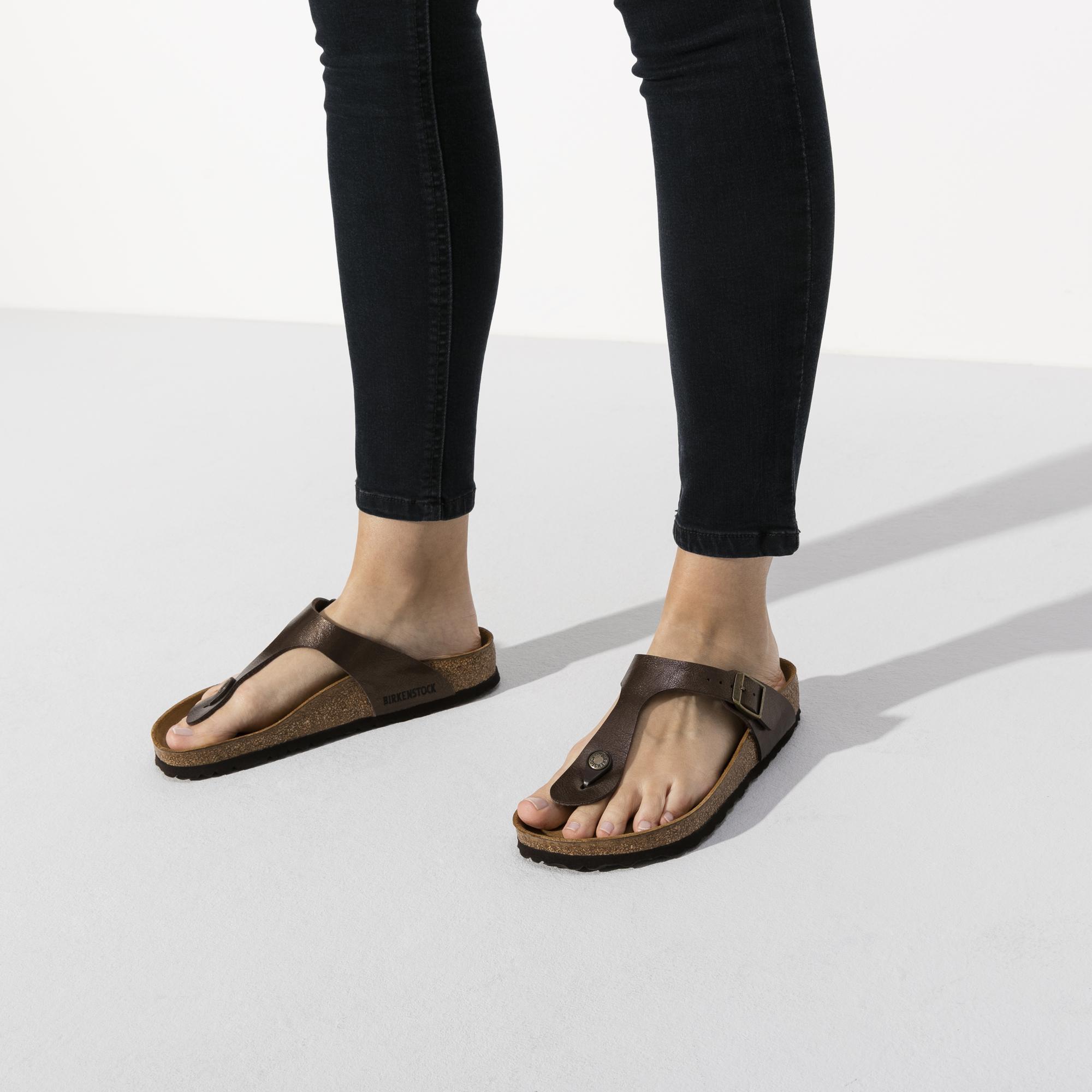 Birkenstock Gizeh Birko Flor Regular Shoes Females Footwear