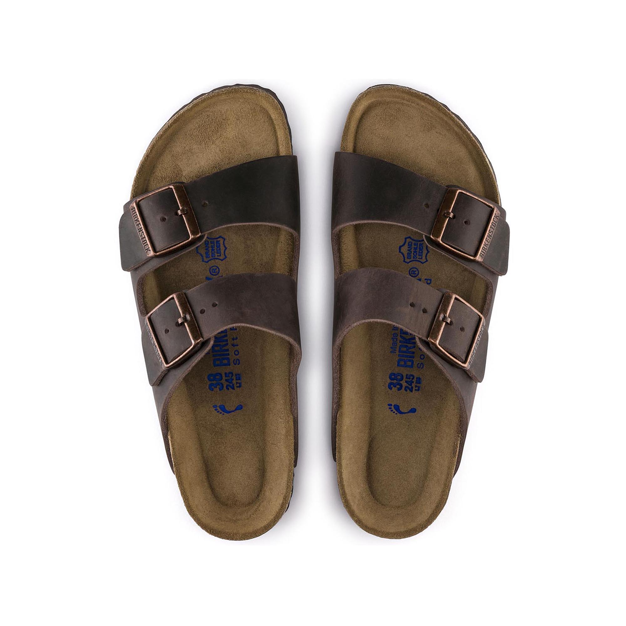 retail prices wholesale price big discount Arizona Oiled Leather Habana | shop online at BIRKENSTOCK
