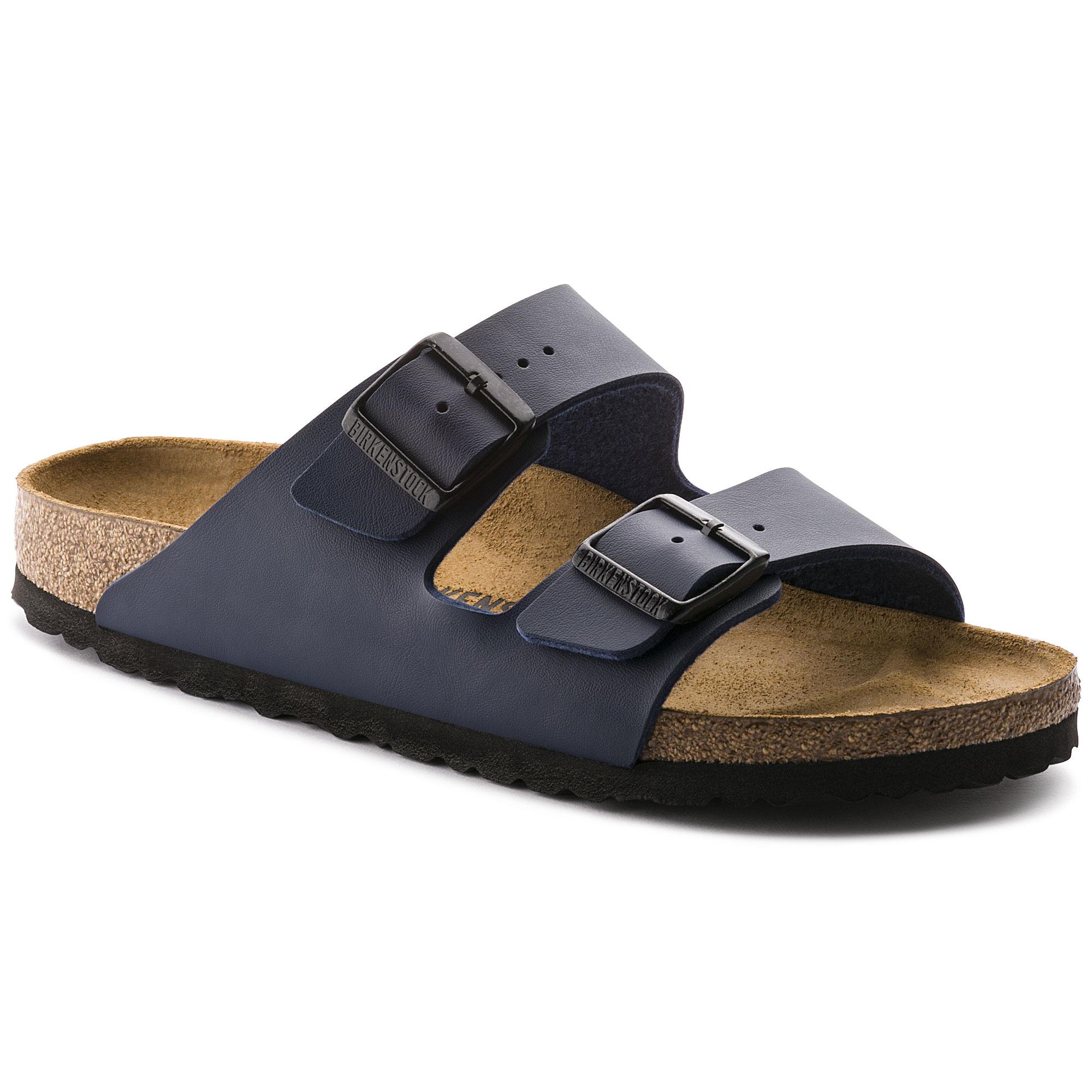 Birkenstock Arizona blue sandals 39 8 regular NWT