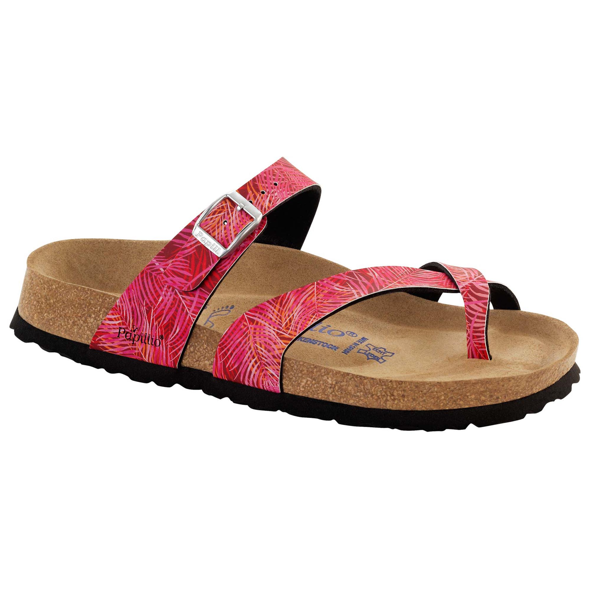 b5e7c873e2bb Tabora Birko-Flor Tropical Leaf Pink