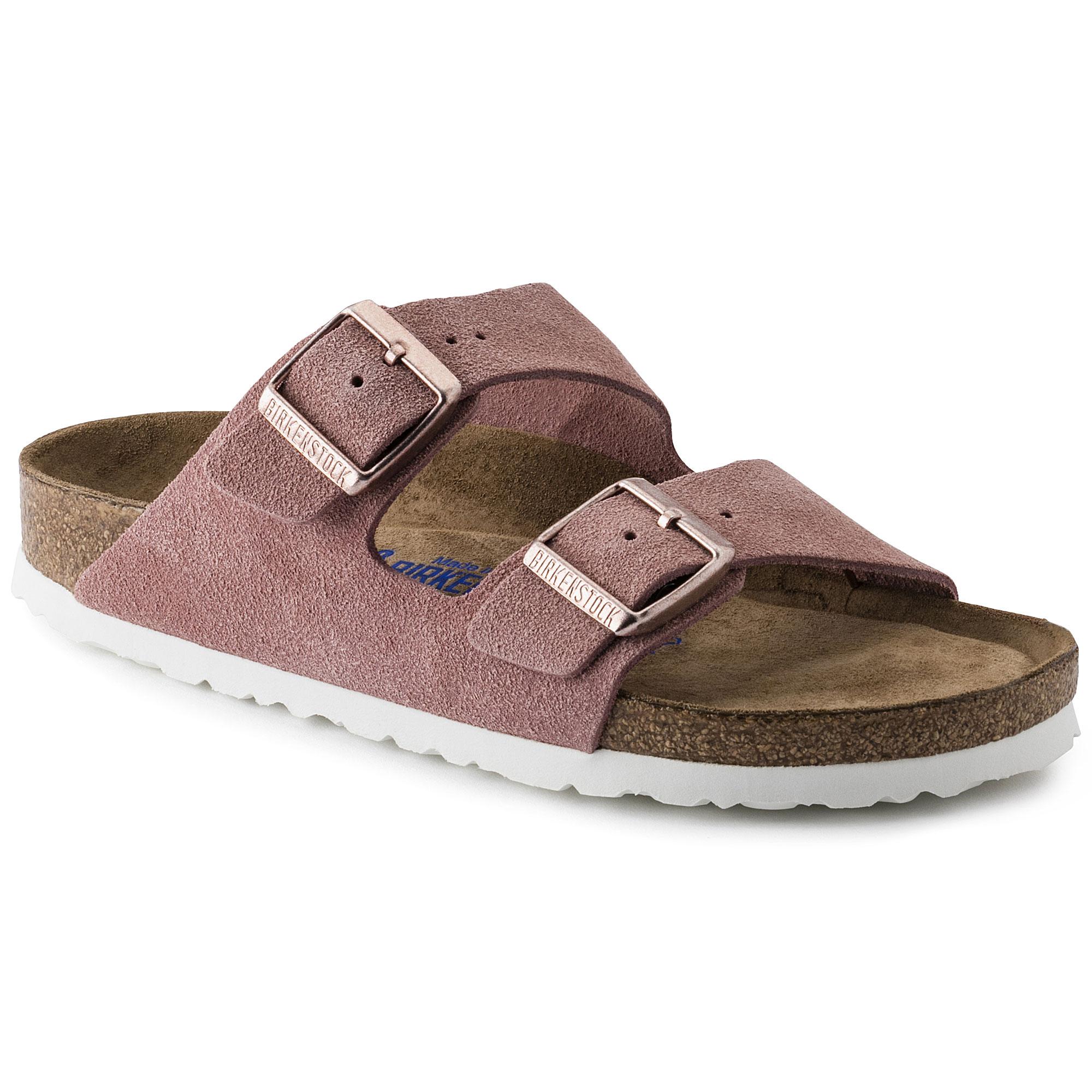 Birkenstock Arizona Soft Footbed Sandals Rose