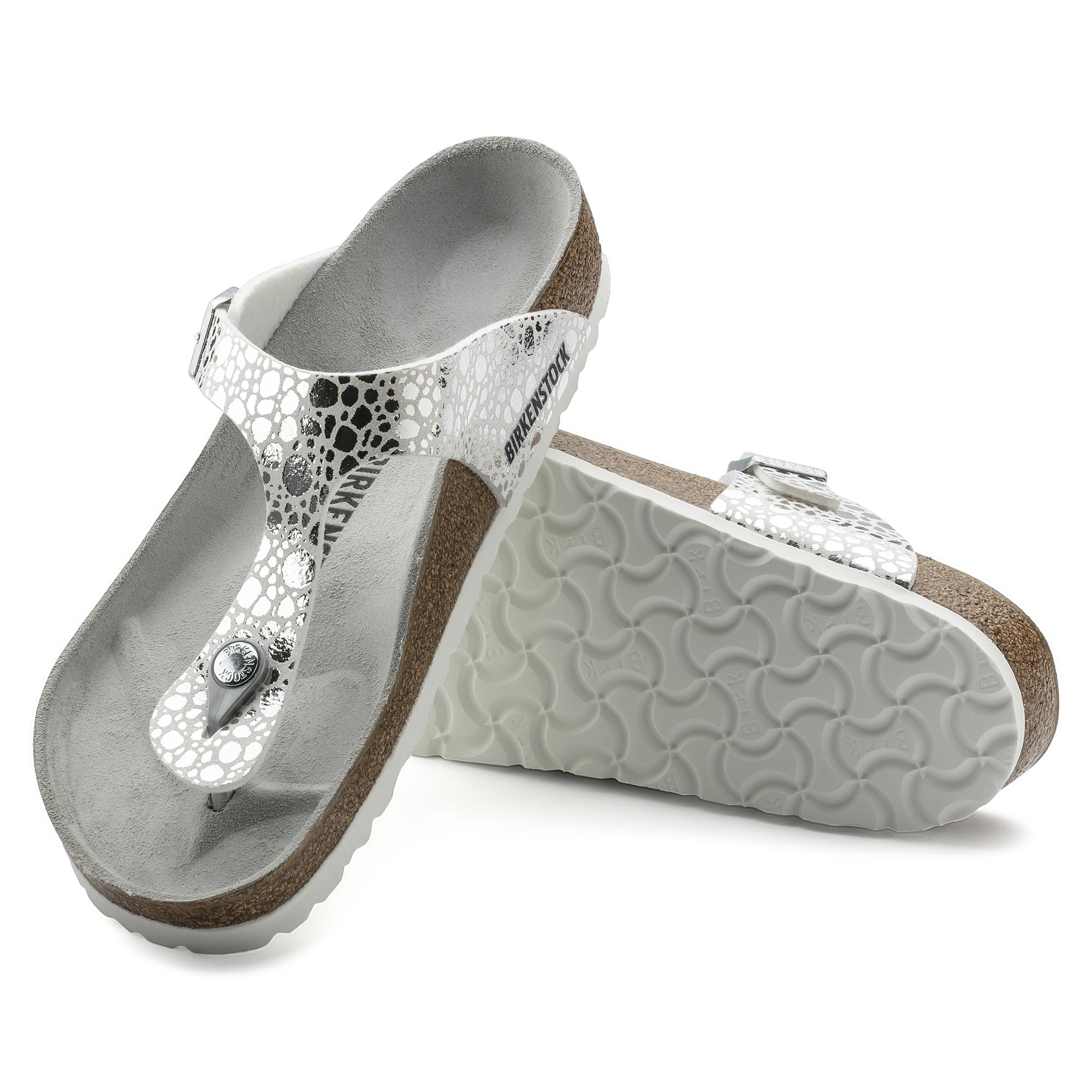0b39cad0ced Gizeh Birko-Flor Metallic Stones Silver ...
