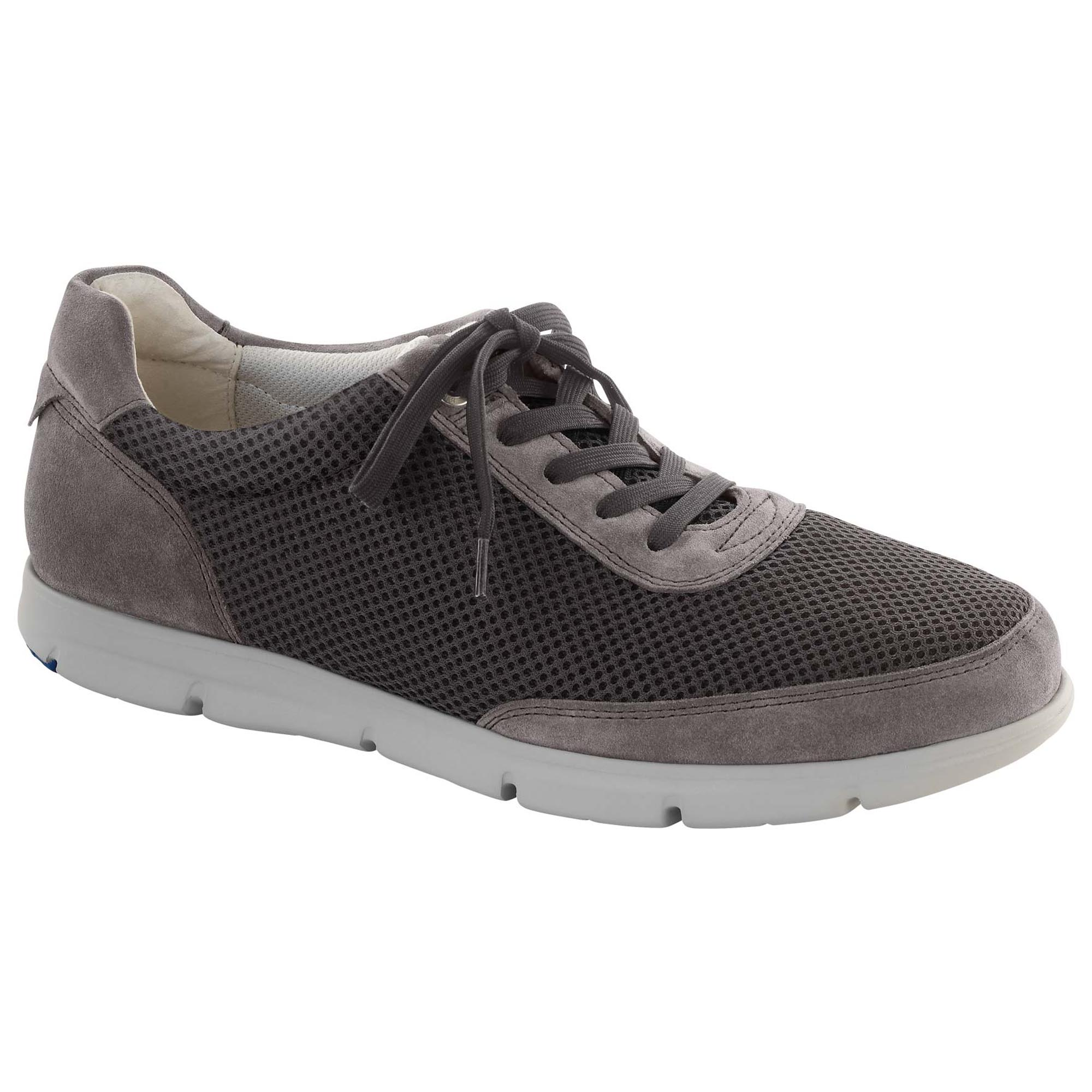 b5531bf936fd71 Illinois Suede Leather Textile Grey ...