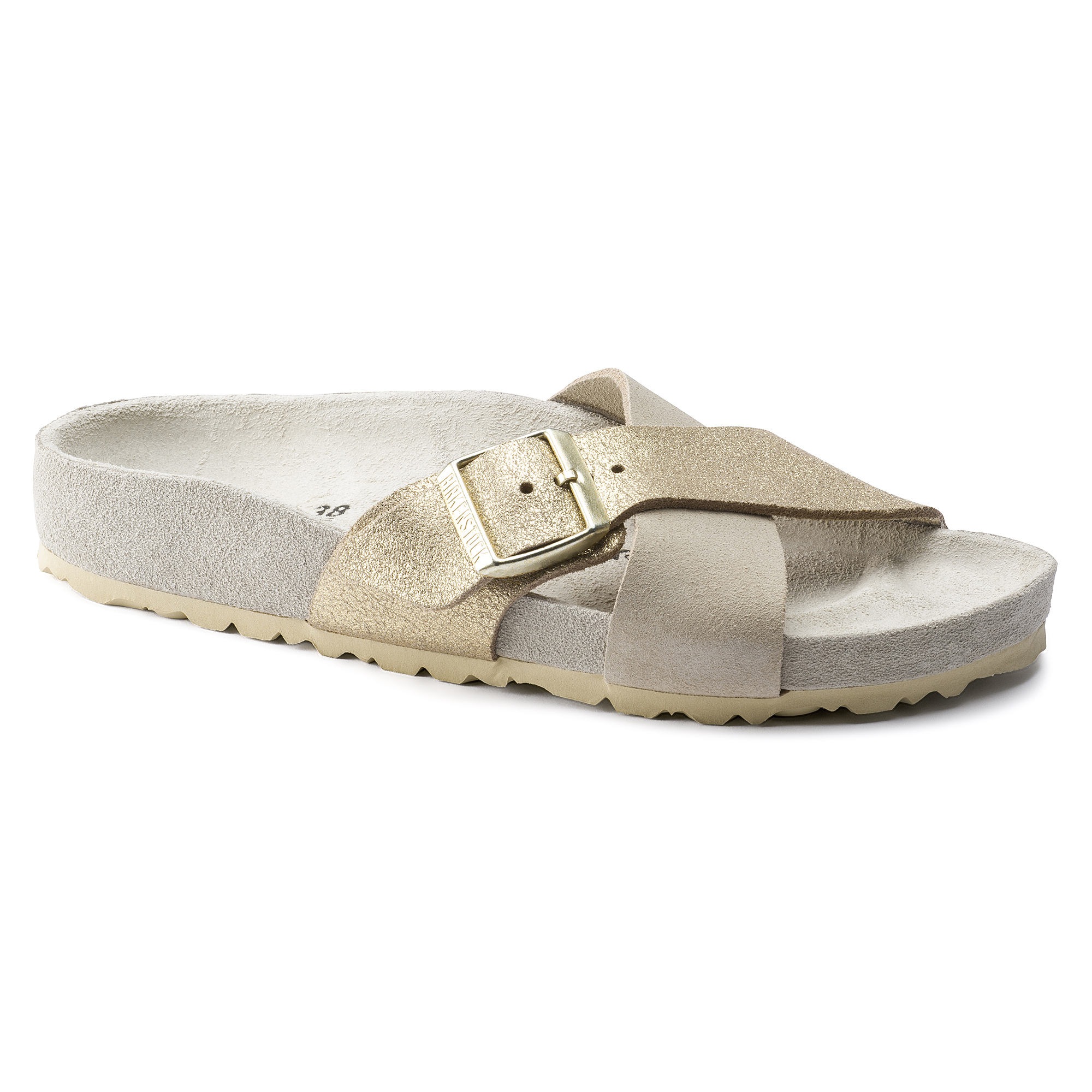 Siena Suede Leather Allover Taupe