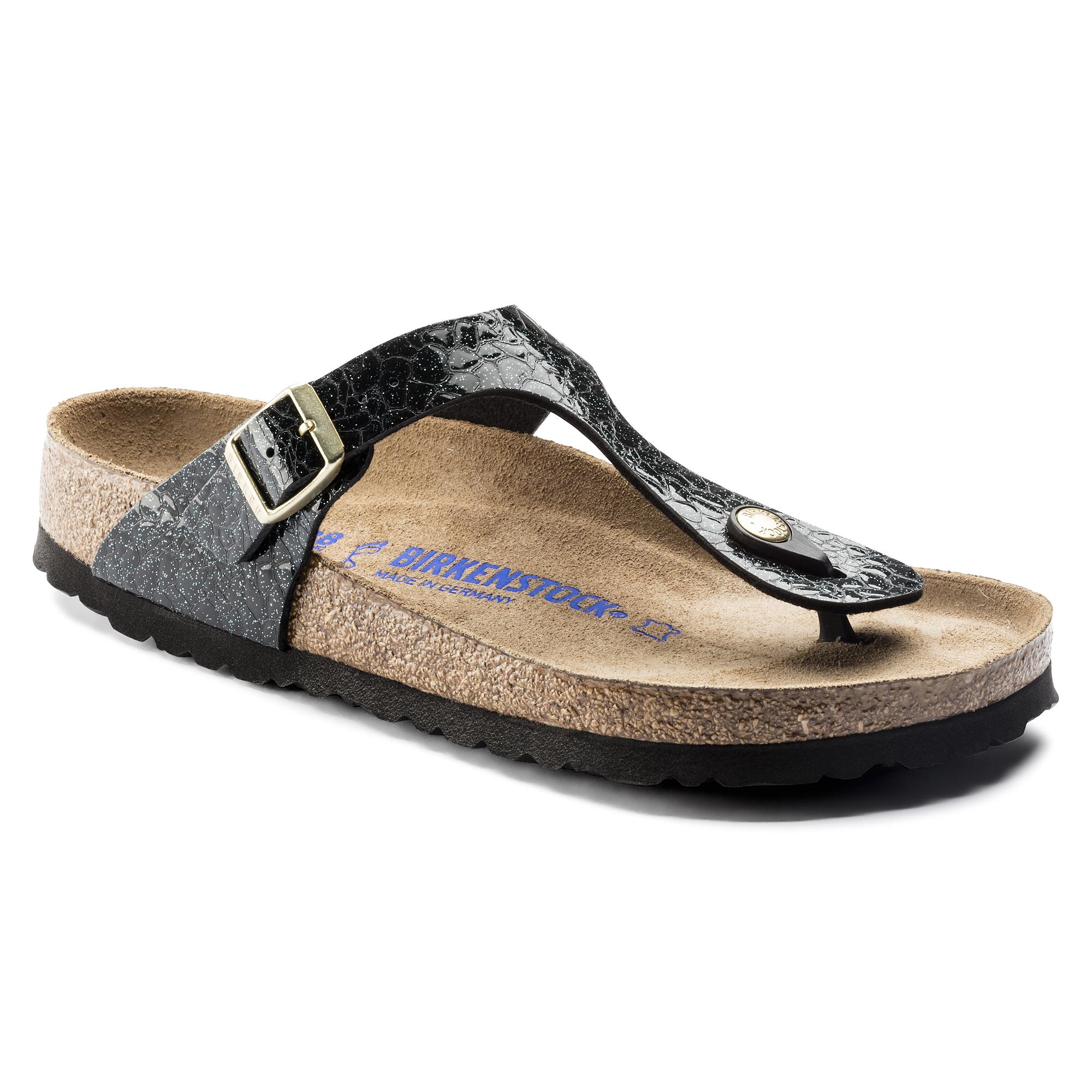 Birkenstock Gizeh Birko Flor Myda Night Soft Footbed Sandals