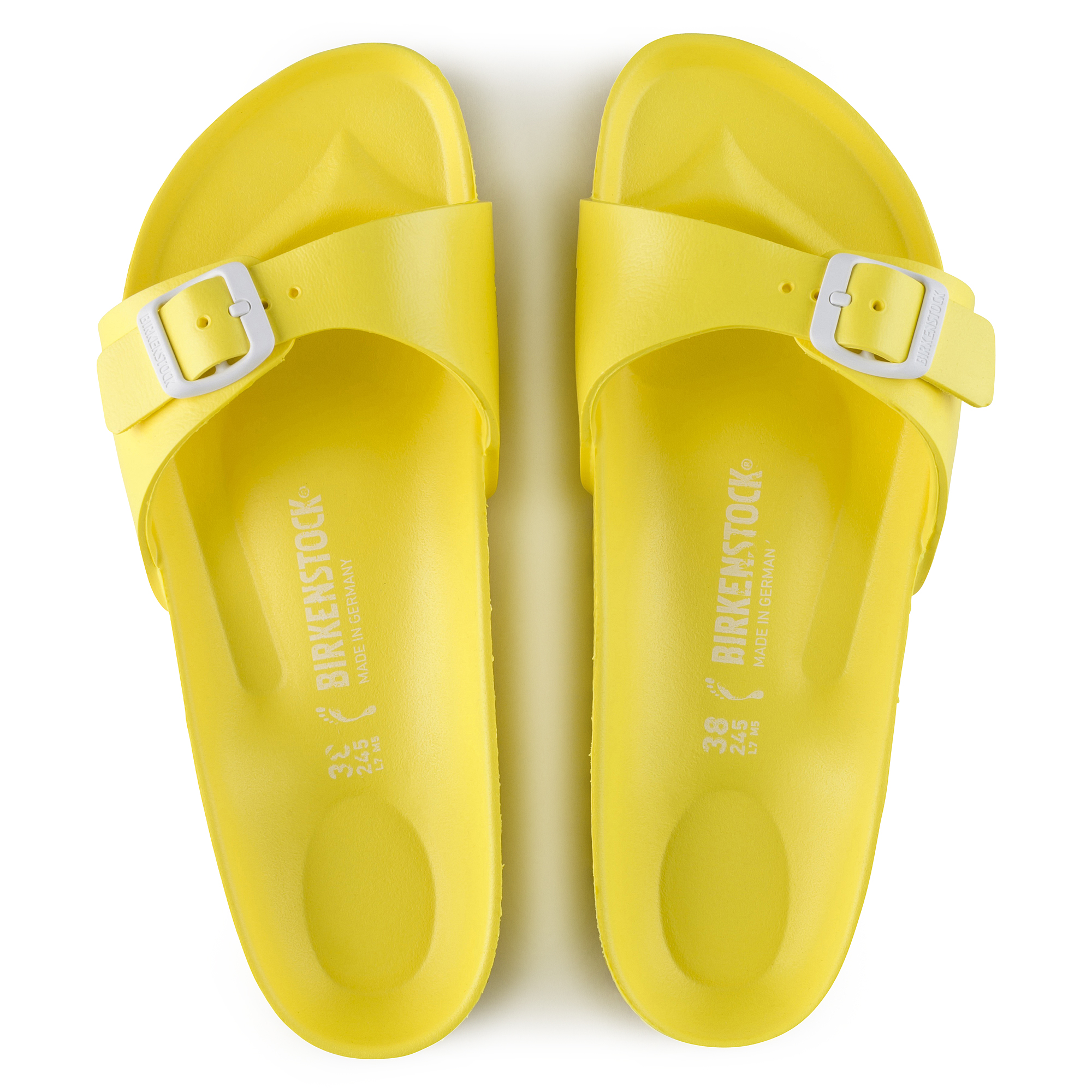 Madrid eva neon yellow shop online at birkenstock for Top us online shopping sites