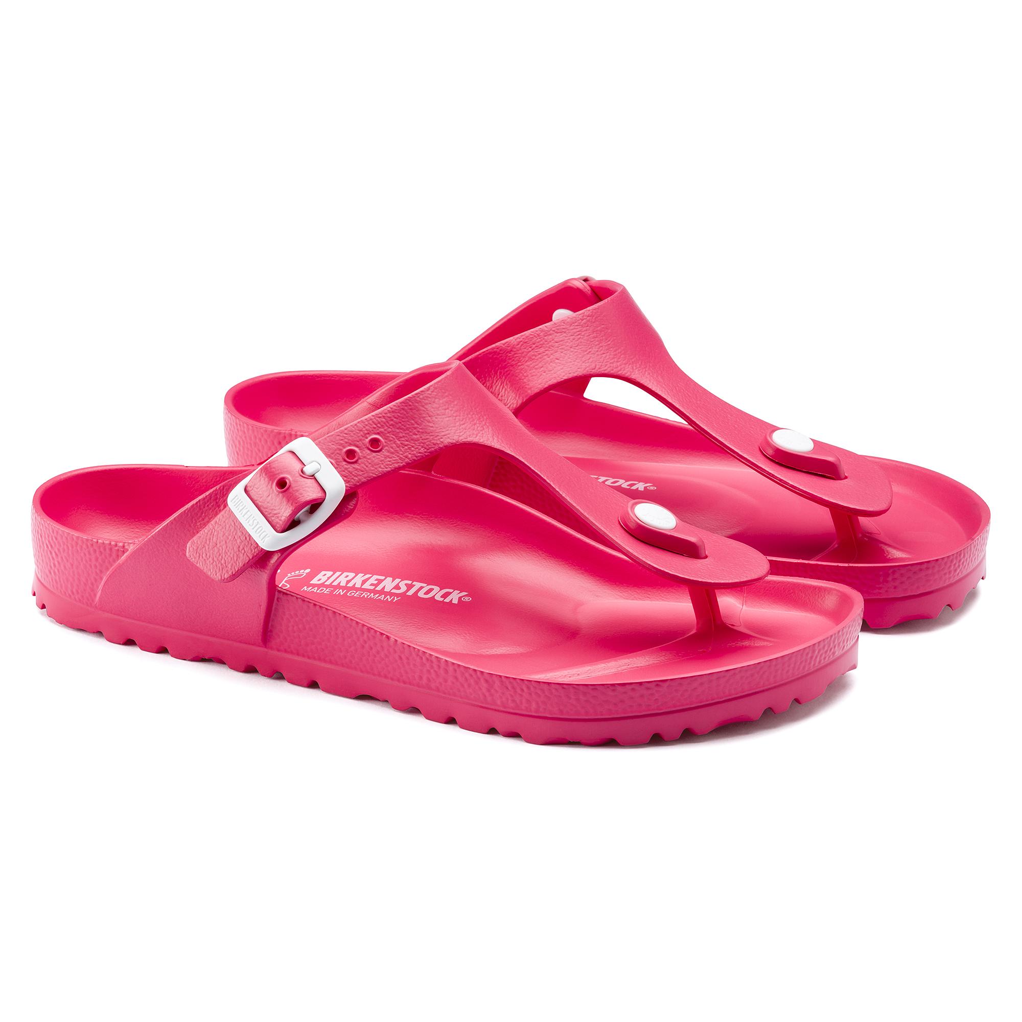 Birkenstock Gizeh Eva Kids Sandals Neon Pink Unisex