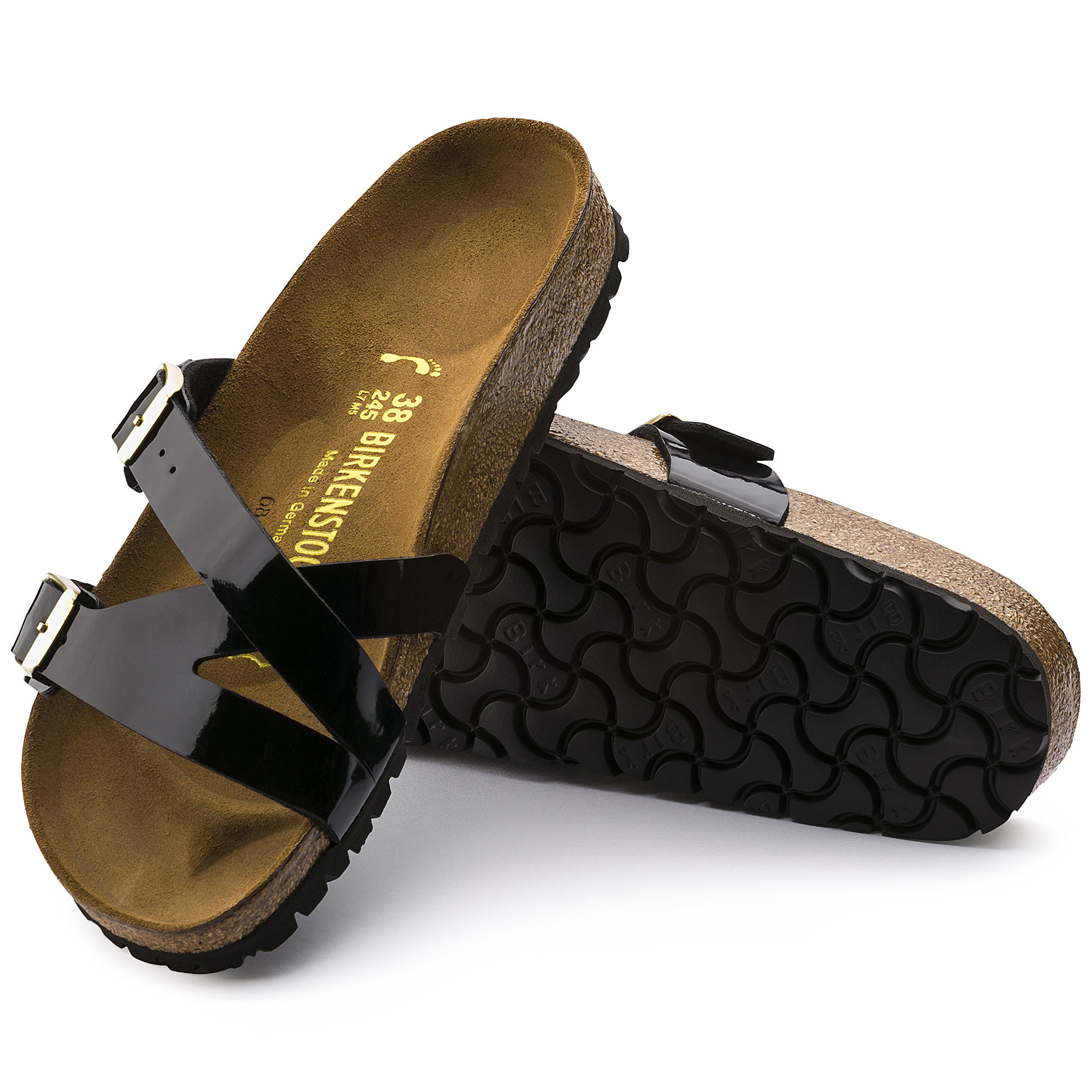 Yao Birko-Flor Black Patent | shop