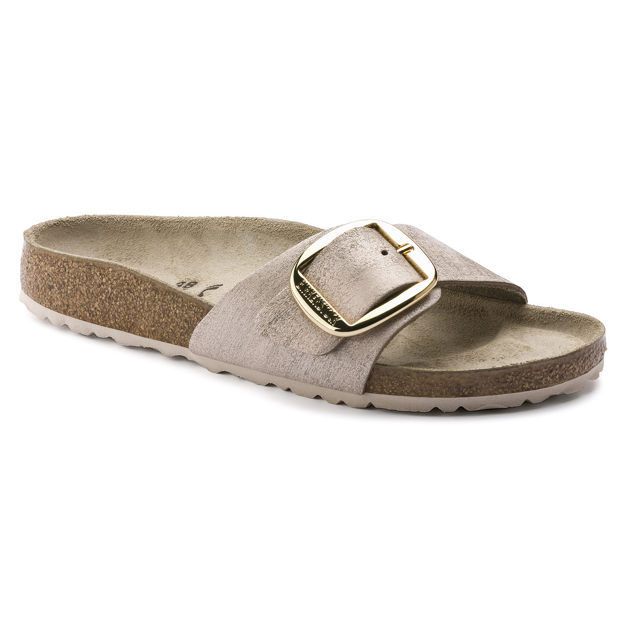 4fee857fb9f4 Madrid Suede Leather Washed Metallic Rose Gold