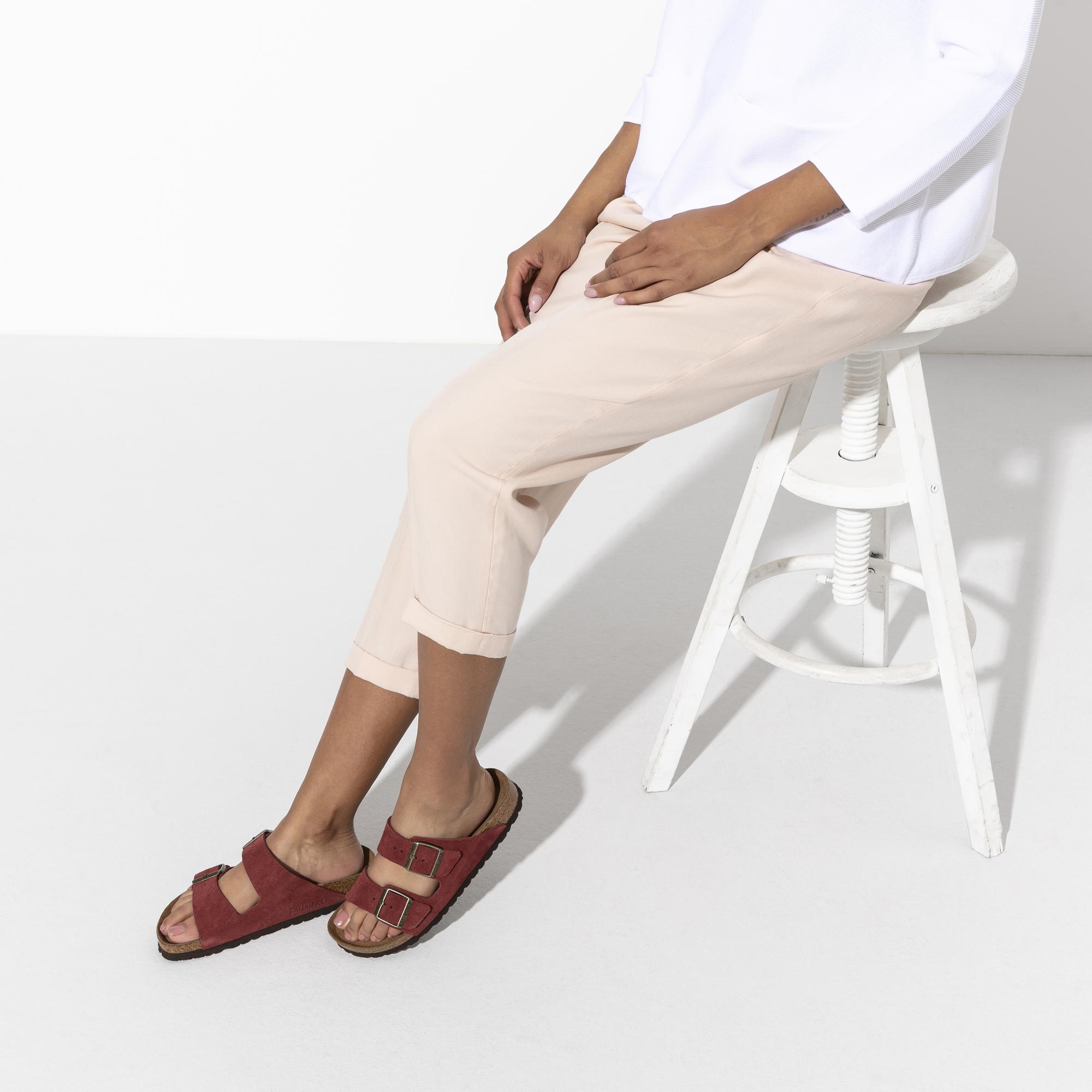 Birkenstock Arizona Suede Comfort Sandal