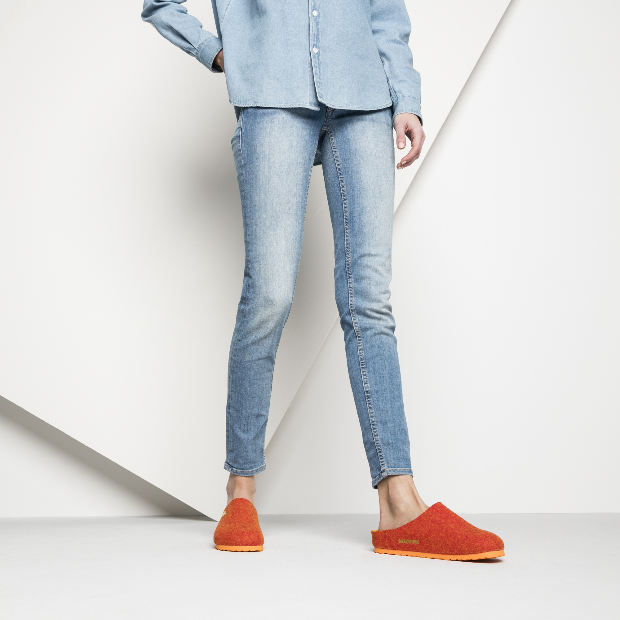 Kaprun Wool Doubleface Orange