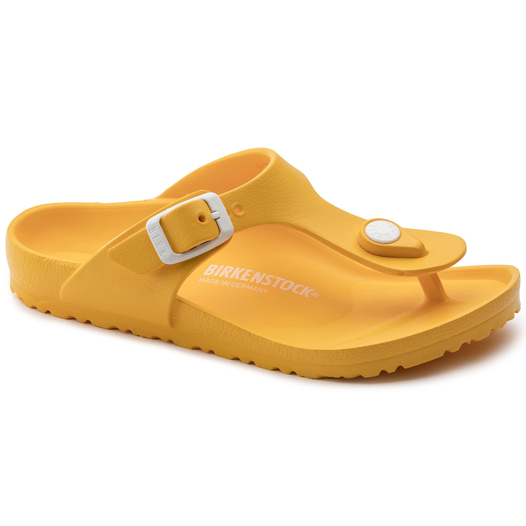 Birkenstock Gizeh EVA Kids kids sandals yellow